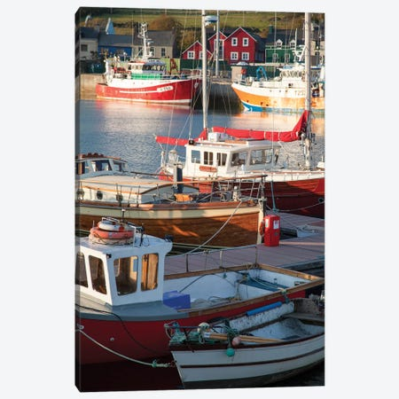 Fishing Boats II, Dingle Harbour, County Kerry, Munster Province, Republic Of Ireland Canvas Print #GAR44} by Gareth McCormack Canvas Print