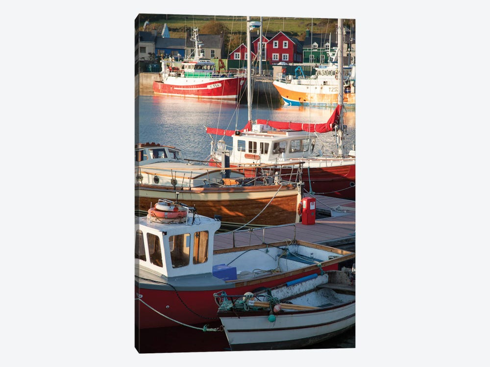 Fishing Boats II, Dingle Harbour, County Kerry, Munster Province, Republic Of Ireland by Gareth McCormack 1-piece Canvas Print