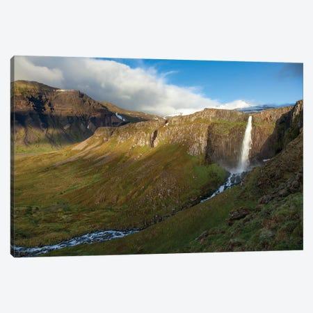 Grundarfoss, Grundarfjordur, Snaefellsnes Peninsula, Vesturland, Iceland Canvas Print #GAR47} by Gareth McCormack Canvas Print