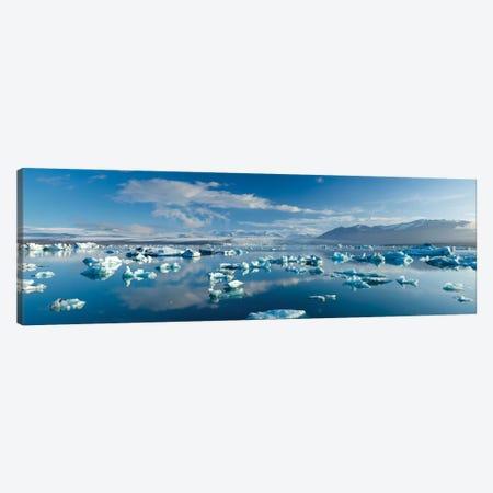 Icebergs I, Jokulsarlon Glacier Lake, Vatnajokull National Park, Sudurland, Iceland Canvas Print #GAR48} by Gareth McCormack Canvas Art