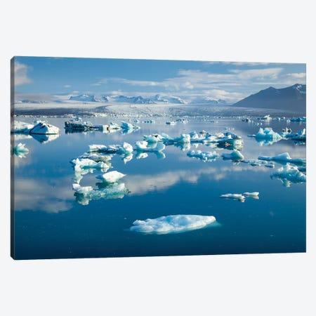 Icebergs II, Jokulsarlon Glacier Lake, Vatnajokull National Park, Sudurland, Iceland Canvas Print #GAR49} by Gareth McCormack Canvas Art
