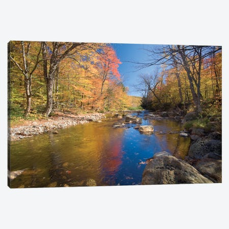 Autumn Landscape, Ellis River, White Mountains, New Hampshire, USA Canvas Print #GAR4} by Gareth McCormack Canvas Art Print