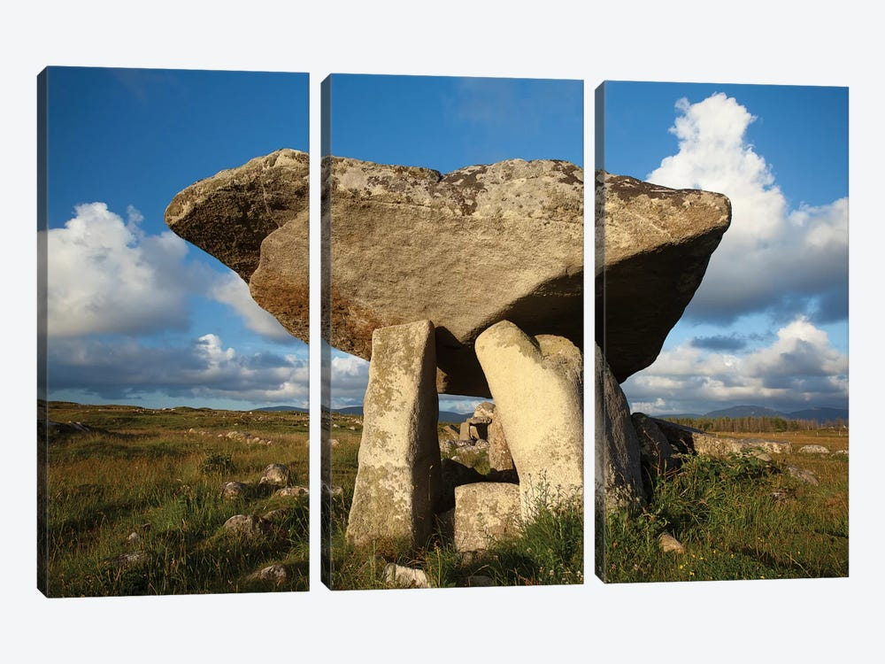 Kilcooney Dolmen I, County Donegal, Ulster Province, Republic Of Ireland by Gareth McCormack 3-piece Art Print