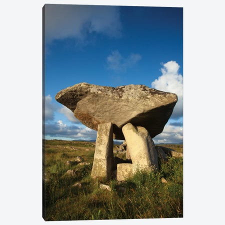 Kilcooney Dolmen II, County Donegal, Ulster Province, Republic Of Ireland Canvas Print #GAR52} by Gareth McCormack Canvas Print