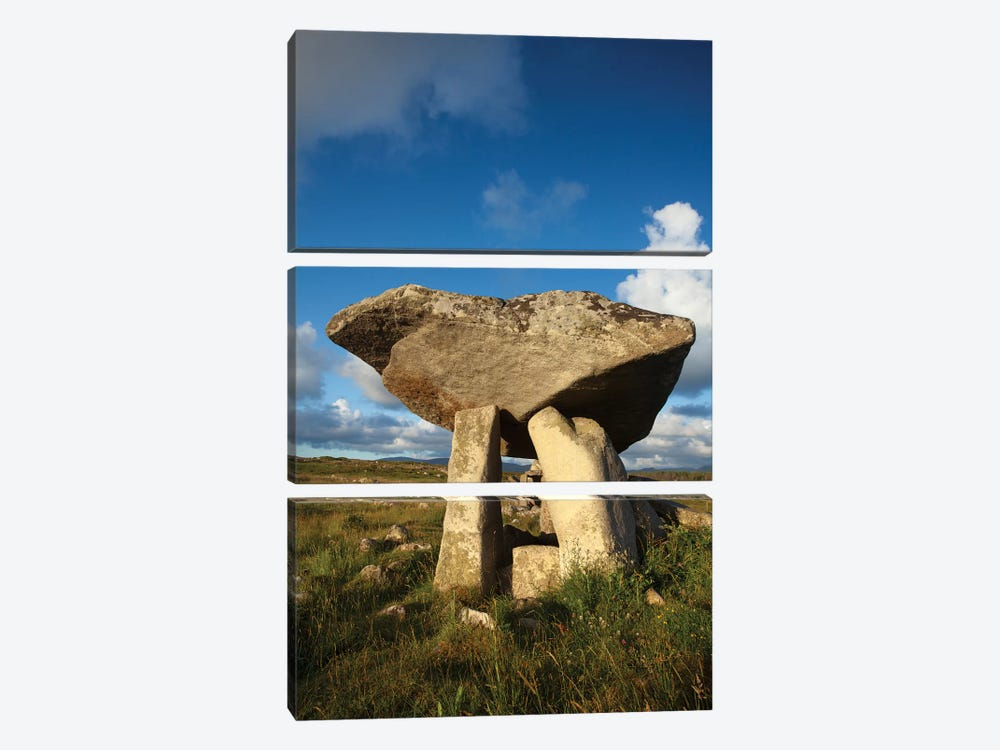 Kilcooney Dolmen II, County Donegal, Ulster Province, Republic Of Ireland by Gareth McCormack 3-piece Canvas Art