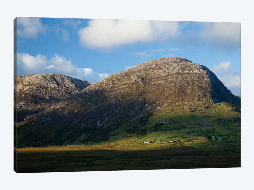 Knocknahillion, Maumturk Mountains, Connemara, County Galway, Connacht Province, Republic Of Ireland 1-piece Canvas Artwork
