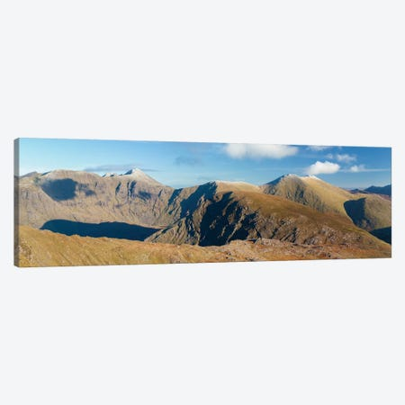 Macgillycuddy's Reeks As Seen From Stumpa Duloigh, County Kerry, Munster Province, Republic Of Ireland Canvas Print #GAR55} by Gareth McCormack Canvas Art