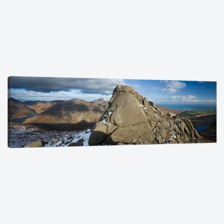 North Tor, Slieve Binnian, Mourne Mountains, County Down, Ulster Province, Northern Ireland, United Kingdom Canvas Print #GAR68} by Gareth McCormack Canvas Artwork