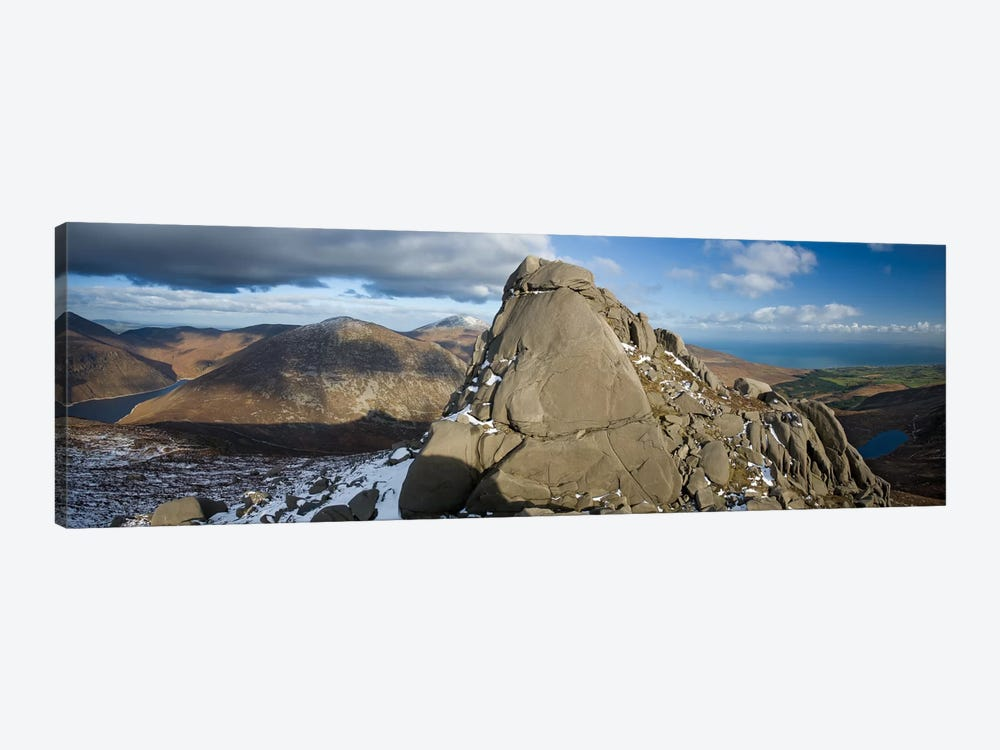 North Tor, Slieve Binnian, Mourne Mountains, County Down, Ulster Province, Northern Ireland, United Kingdom by Gareth McCormack 1-piece Canvas Print
