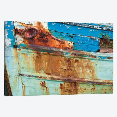 Old Fishing Boat I, Killala, County Mayo, Connacht Province, Republic Of Ireland Canvas Print #GAR69} by Gareth McCormack Canvas Art