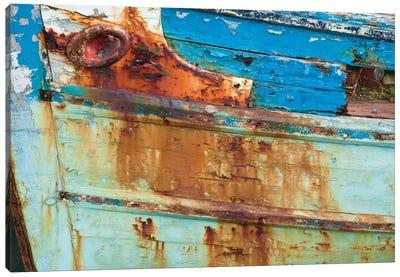 Old Fishing Boat I, Killala, County Mayo, Connacht Province, Republic Of Ireland Canvas Print #GAR69