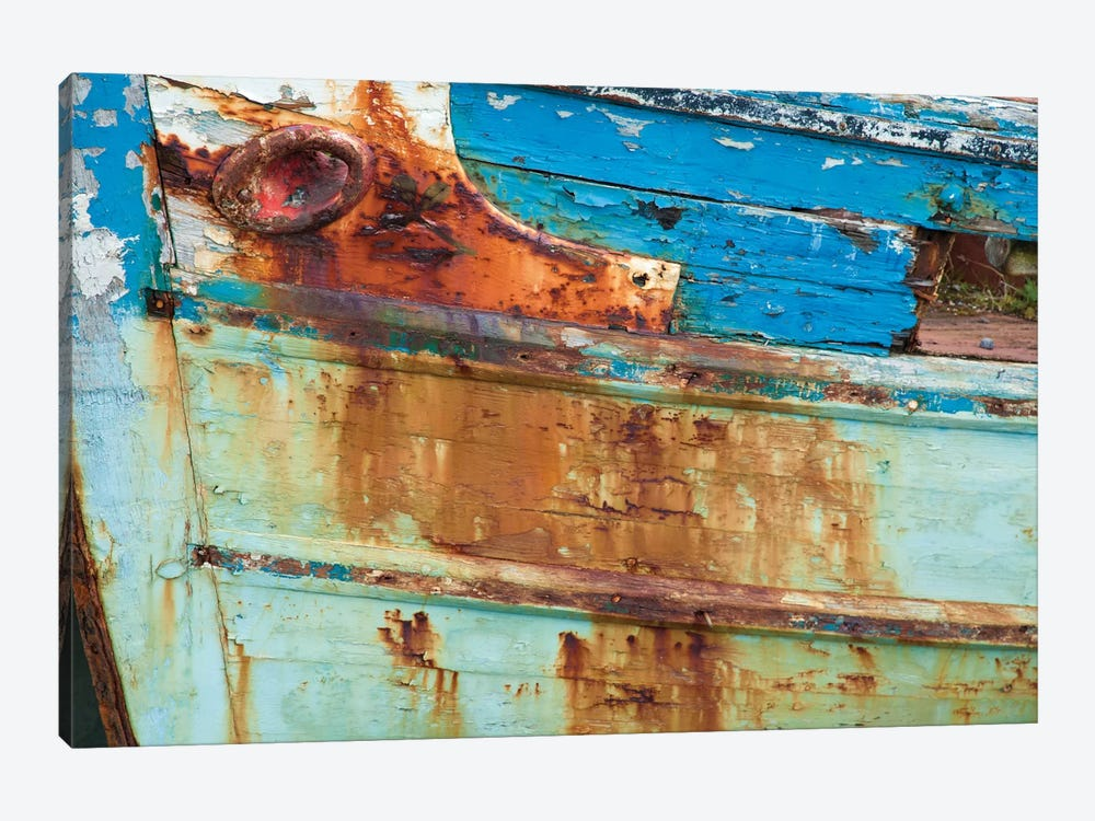 Old Fishing Boat I, Killala, County Mayo, Connacht Province, Republic Of Ireland by Gareth McCormack 1-piece Canvas Art