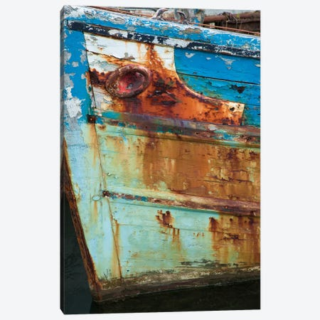 Old Fishing Boat II, Killala, County Mayo, Connacht Province, Republic Of Ireland Canvas Print #GAR70} by Gareth McCormack Canvas Art Print