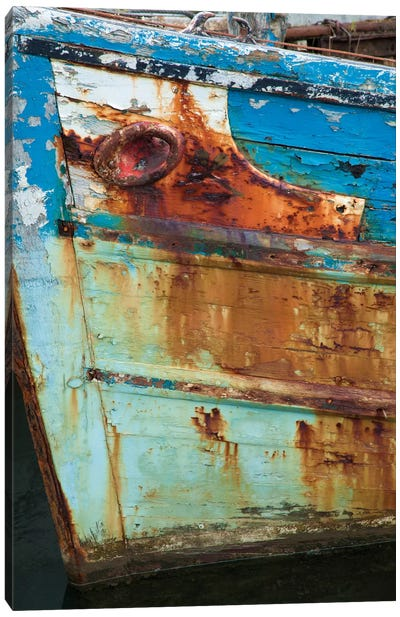 Old Fishing Boat II, Killala, County Mayo, Connacht Province, Republic Of Ireland Canvas Art Print
