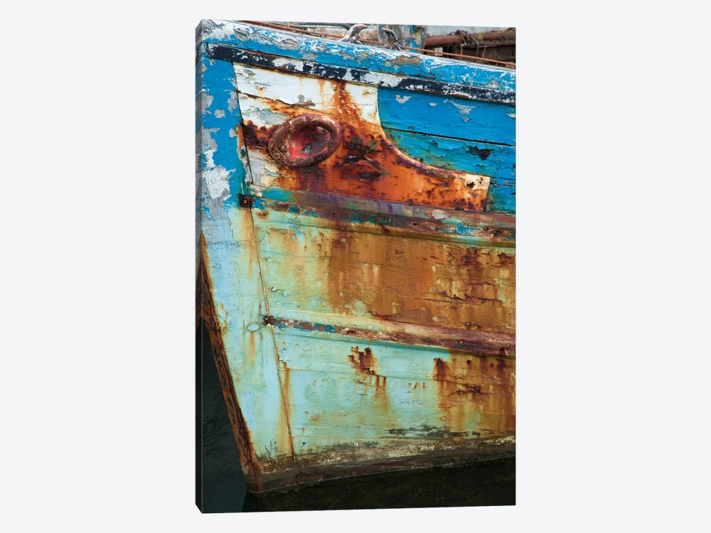 Old Fishing Boat II, Killala, County Mayo, Connacht Province, Republic Of Ireland by Gareth McCormack 1-piece Canvas Wall Art