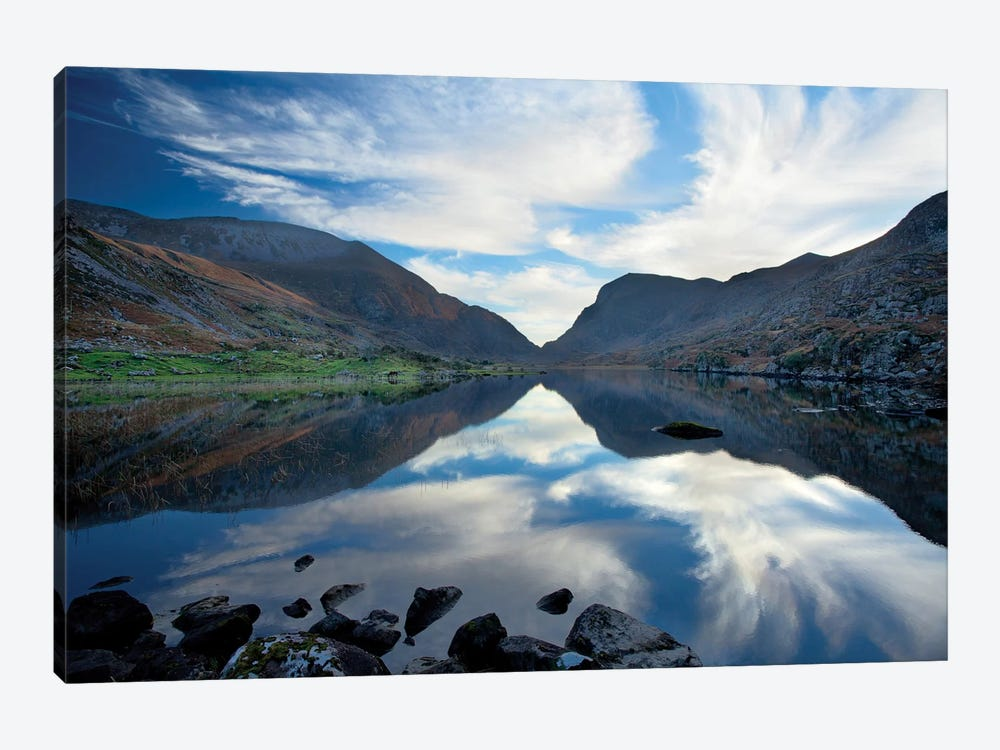 Reflection, Gap Of Dunloe, County Kerry, Munster Province, Republic Of Ireland by Gareth McCormack 1-piece Canvas Print