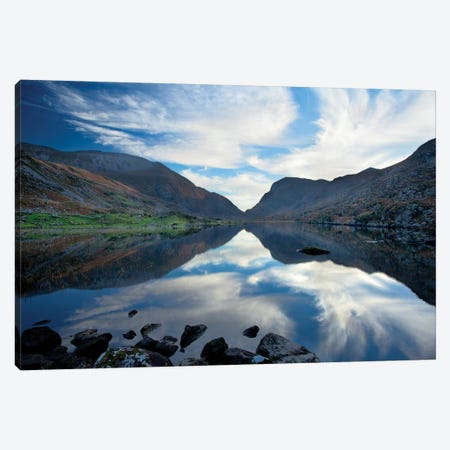 Reflection, Gap Of Dunloe, County Kerry, Munster Province, Republic Of Ireland 3-Piece Canvas #GAR75} by Gareth McCormack Canvas Artwork