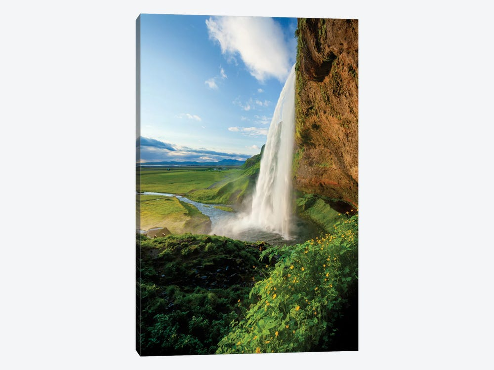 Seljalandsfoss I, Sudurland, Iceland by Gareth McCormack 1-piece Canvas Artwork