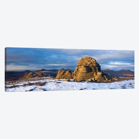 Summit Tors, Slieve Binnian, Mourne Mountains, County Down, Ulster Province, Northern Ireland, United Kingdom Canvas Print #GAR81} by Gareth McCormack Canvas Art