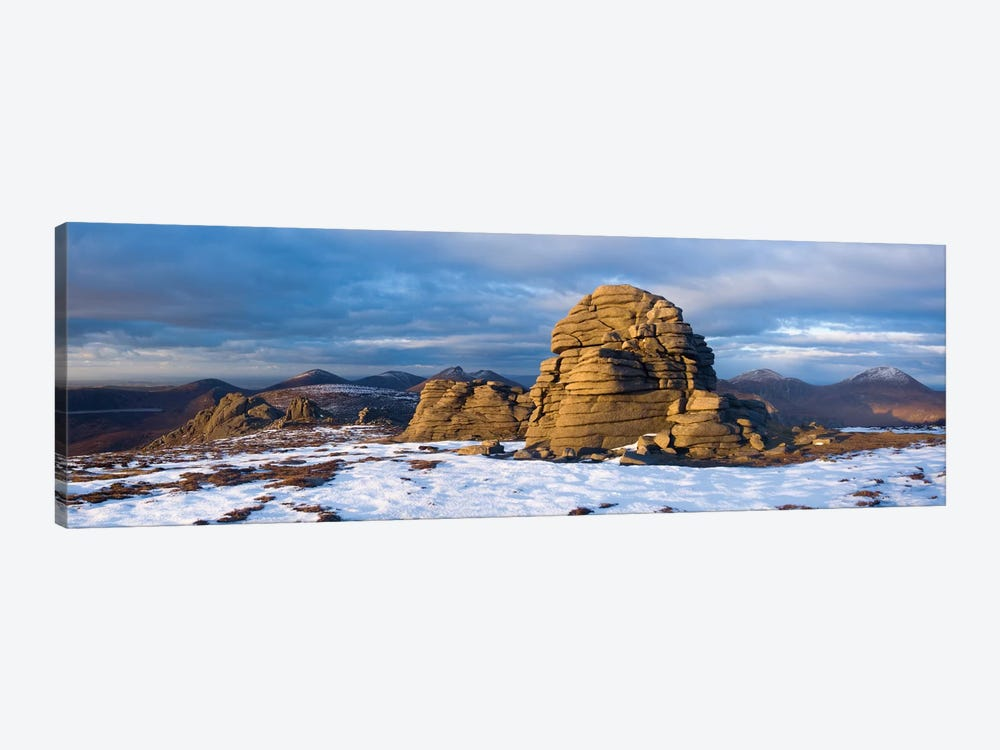 Summit Tors, Slieve Binnian, Mourne Mountains, County Down, Ulster Province, Northern Ireland, United Kingdom by Gareth McCormack 1-piece Canvas Art