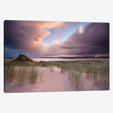 Sunset II, Dunes Of Enniscrone, County Sligo, Connacht Province, Republic Of Ireland Canvas Print #GAR85} by Gareth McCormack Canvas Print