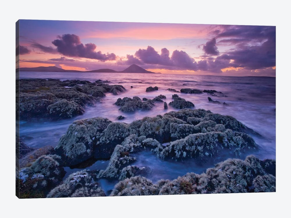 Sunset, Ballycroy,County Mayo, Connacht Province, Republic Of Ireland by Gareth McCormack 1-piece Canvas Wall Art