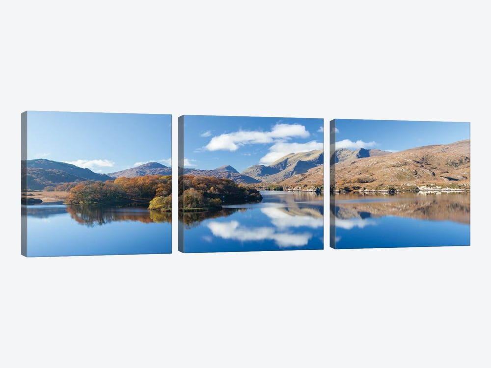 Upper Lake, Killarney National Park, County Kerry, Munster Province, Republic Of Ireland by Gareth McCormack 3-piece Canvas Print