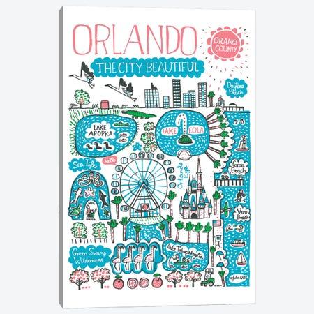 Orlando Canvas Print #GAS13} by Julia Gash Canvas Artwork
