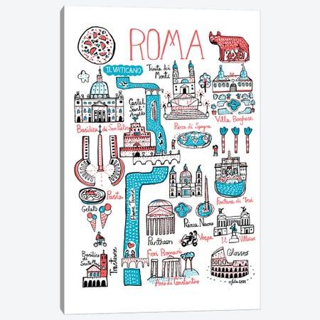 Roma Canvas Print #GAS17} by Julia Gash Canvas Art Print