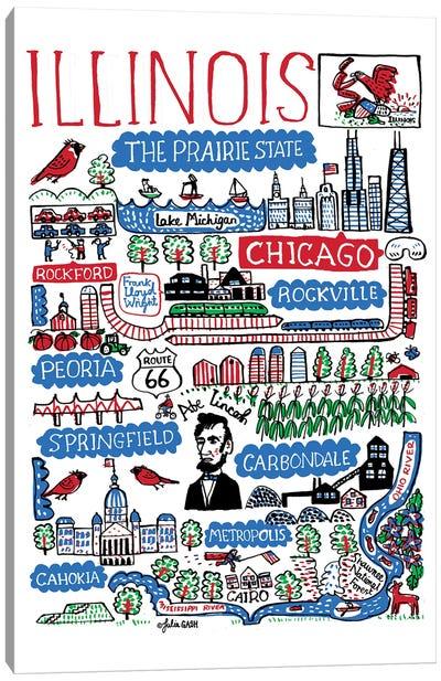 Illinois Canvas Art Print