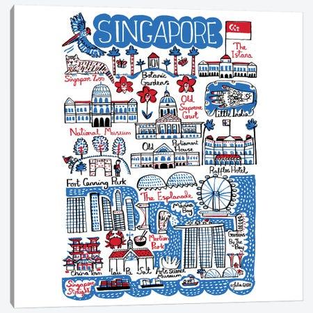 Singapore Canvas Print #GAS20} by Julia Gash Canvas Art Print
