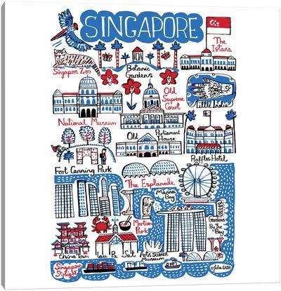 Singapore Canvas Art Print