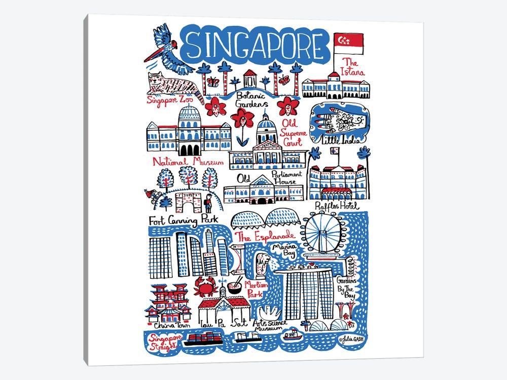 Singapore by Julia Gash 1-piece Canvas Wall Art