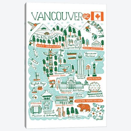 Vancouver Canvas Print #GAS25} by Julia Gash Canvas Art
