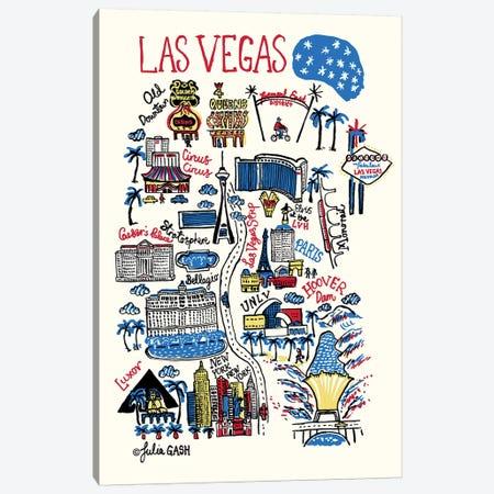 Las Vegas Canvas Print #GAS27} by Julia Gash Canvas Artwork