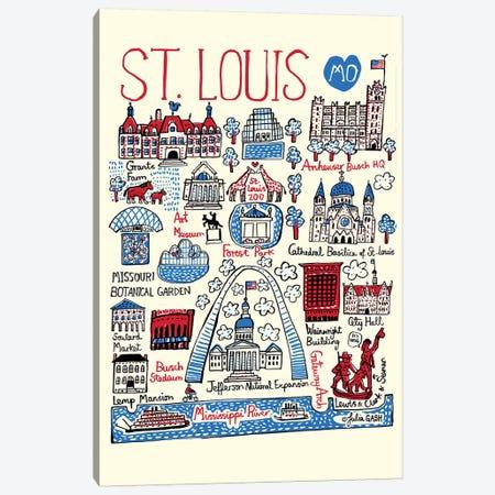 St Louis Canvas Print #GAS28} by Julia Gash Canvas Print