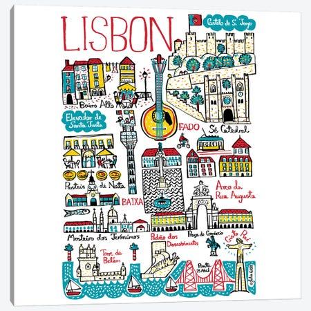 Lisbon Canvas Print #GAS2} by Julia Gash Canvas Print