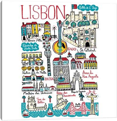 Lisbon Canvas Art Print