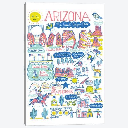 Arizona Canvas Print #GAS31} by Julia Gash Canvas Artwork