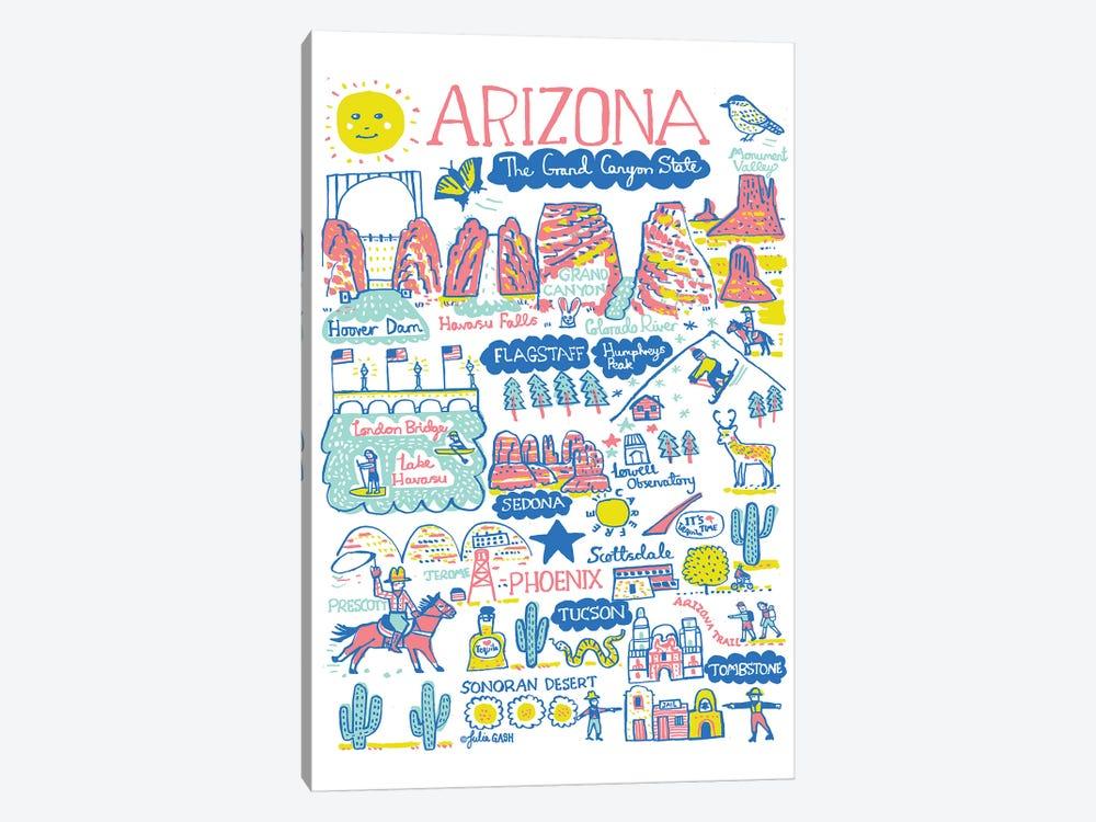 Arizona by Julia Gash 1-piece Canvas Art
