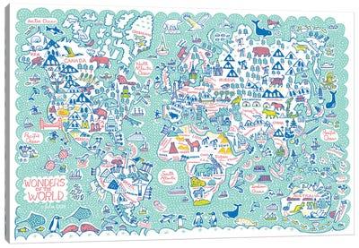 World Map Canvas Art Print