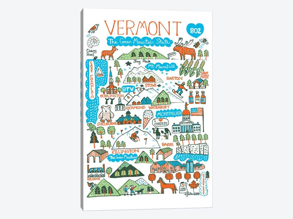 Vermont by Julia Gash 1-piece Canvas Wall Art