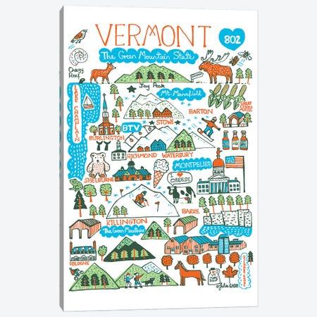 Vermont Canvas Print #GAS35} by Julia Gash Art Print