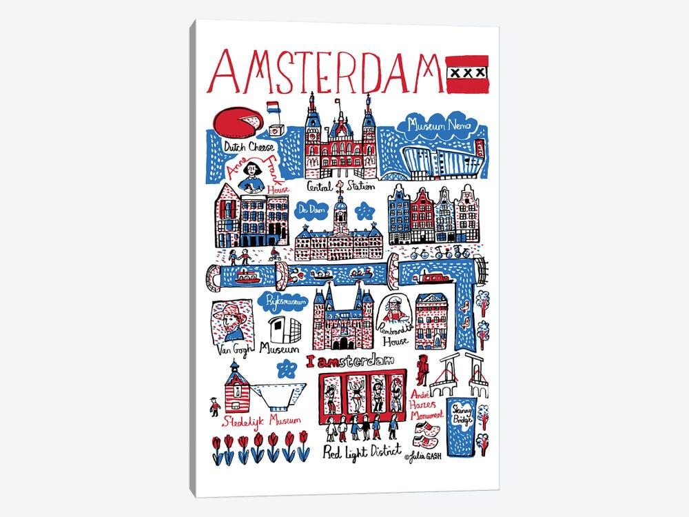 Amsterdam by Julia Gash 1-piece Art Print