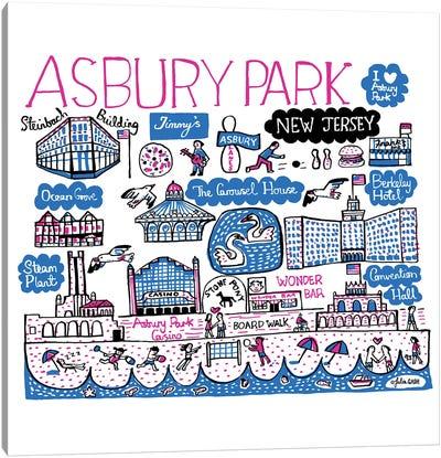 Asbury Park Canvas Art Print