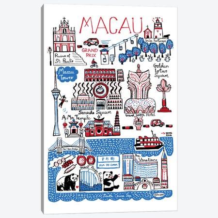 Macau Canvas Print #GAS3} by Julia Gash Canvas Art Print
