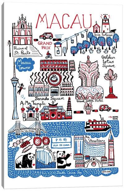 Macau Canvas Art Print