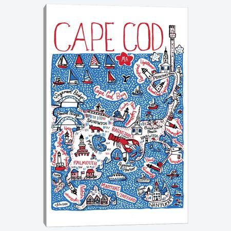 Cape Cod Canvas Print #GAS43} by Julia Gash Canvas Print
