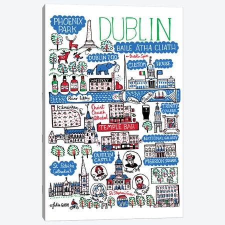 Dublin Canvas Print #GAS46} by Julia Gash Canvas Art