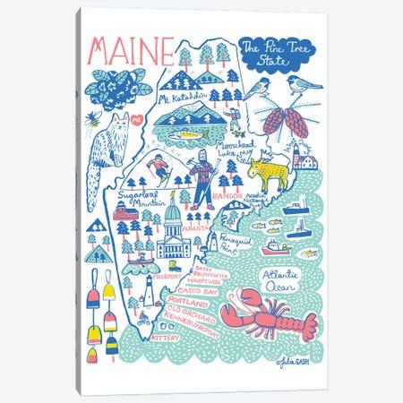 Maine Canvas Print #GAS49} by Julia Gash Canvas Print